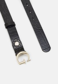 Guess - CORILY ADJUSTABLE PANT BELT - Pásek - black - 1