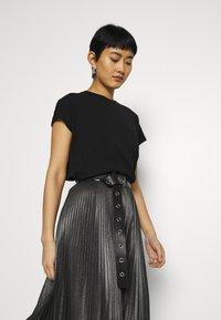 AllSaints - JAS SKIRT - A-line skirt - silver - 3