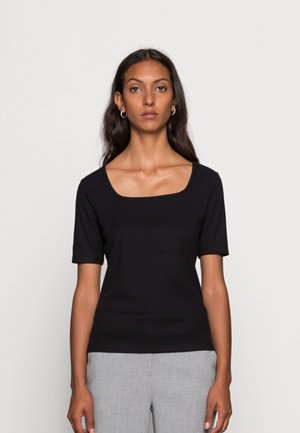 SUNIQ - T-shirt basic - black