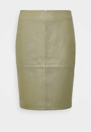 CECILIA - Pencil skirt - moon dust