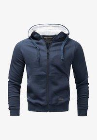 Alessandro Salvarini - Zip-up hoodie - navy - 0