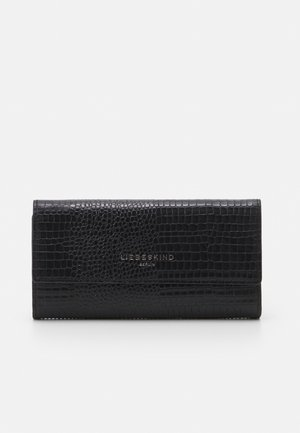 MERYL LIZARD TALIA WALLET LARGE - Wallet - black