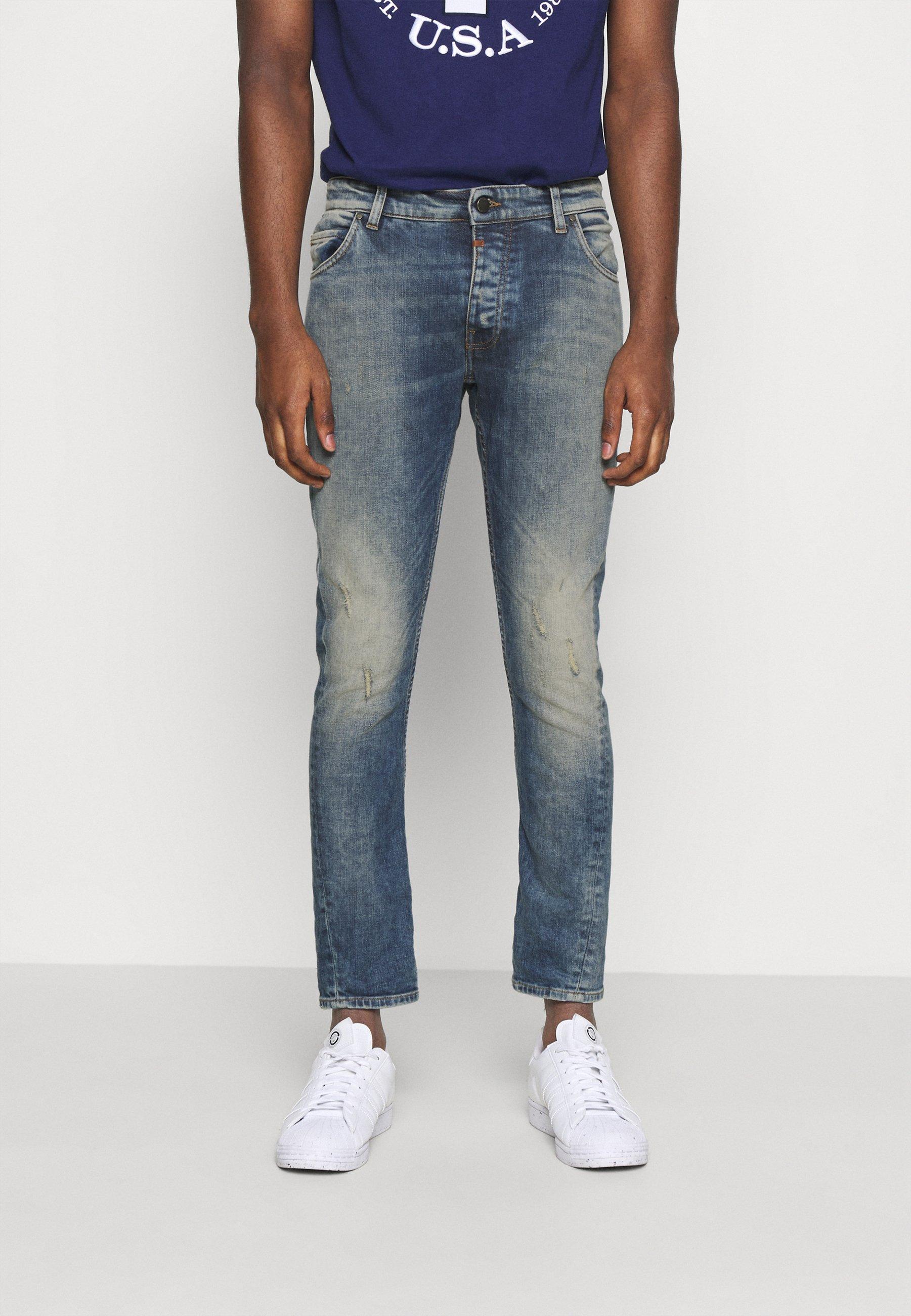 Men BILLY THE KID DESTROYED - Slim fit jeans