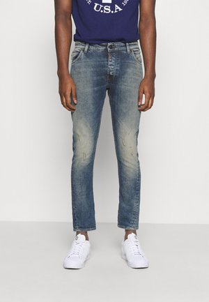 BILLY THE KID DESTROYED - Slim fit jeans - vintage mid blue