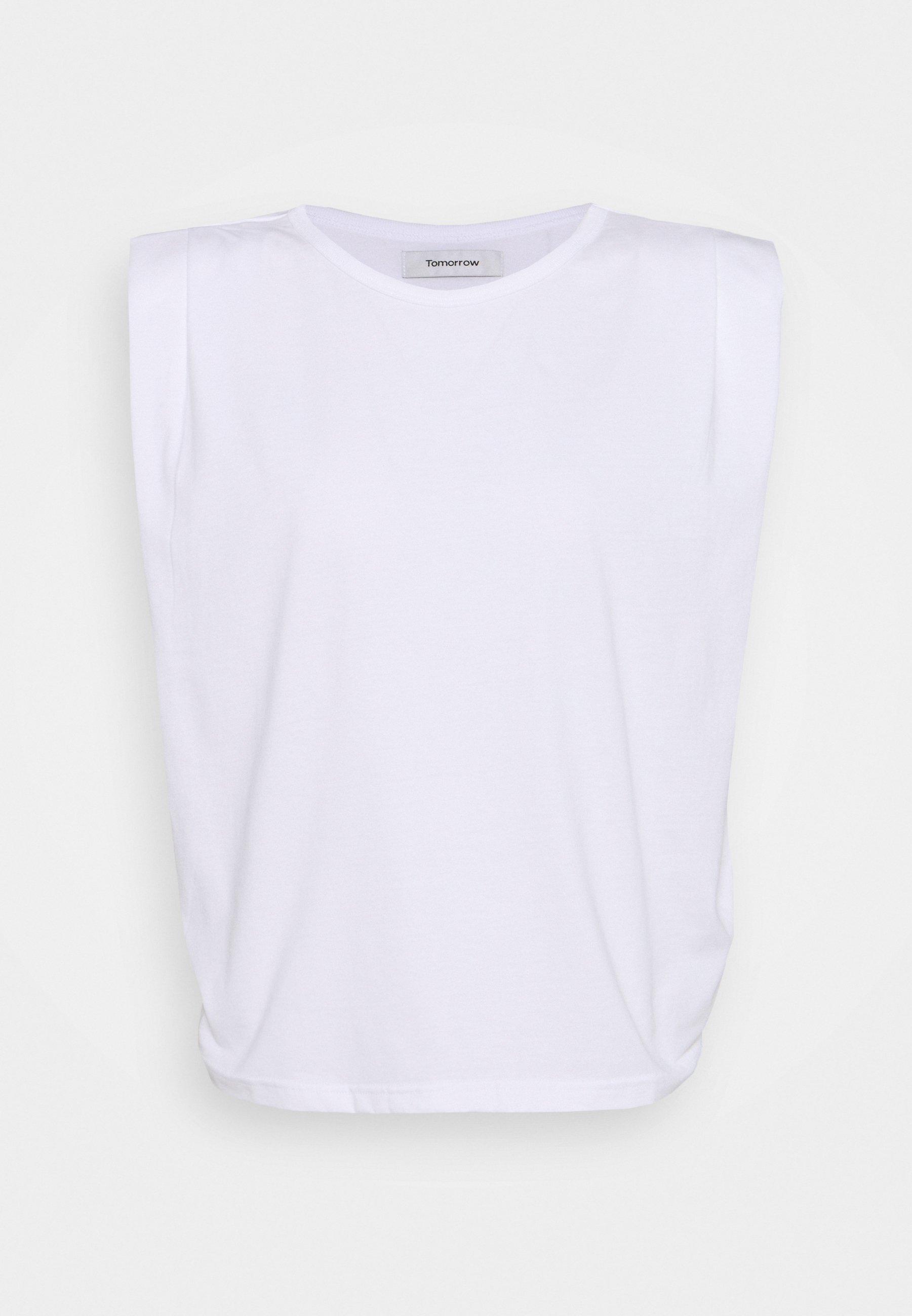 Women CASUAL SHOULDER TEE - Basic T-shirt
