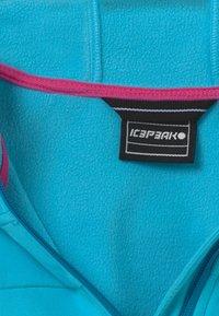 Icepeak - KAPPELN - Soft shell jacket - turquoise - 4
