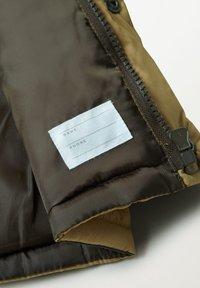 Mango - LUCA - Zimní bunda - okker - 3