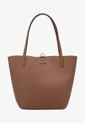 Shopper - taupe/blush