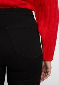 Topshop Petite - JONI - Jeans Skinny Fit - pure black - 4