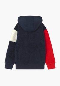 Tommy Hilfiger - COLORBLOCK HOODIE UNISEX - Fleece jacket - blue - 1