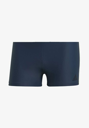 3-STRIPES SWIM BOXERS - Swimming trunks - blue