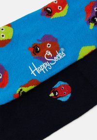 Happy Socks - EMBROIDERY DOG SOCK UNISEX 2 PACK - Socks - multi - 2