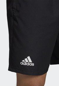 adidas Performance - CLUB SHORTS - Urheilushortsit - black - 6