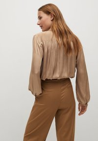 Mango - VAMPI-A - Button-down blouse - beige - 2