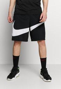 Nike Performance - DRY SHORT - Pantalón corto de deporte - black/white - 0