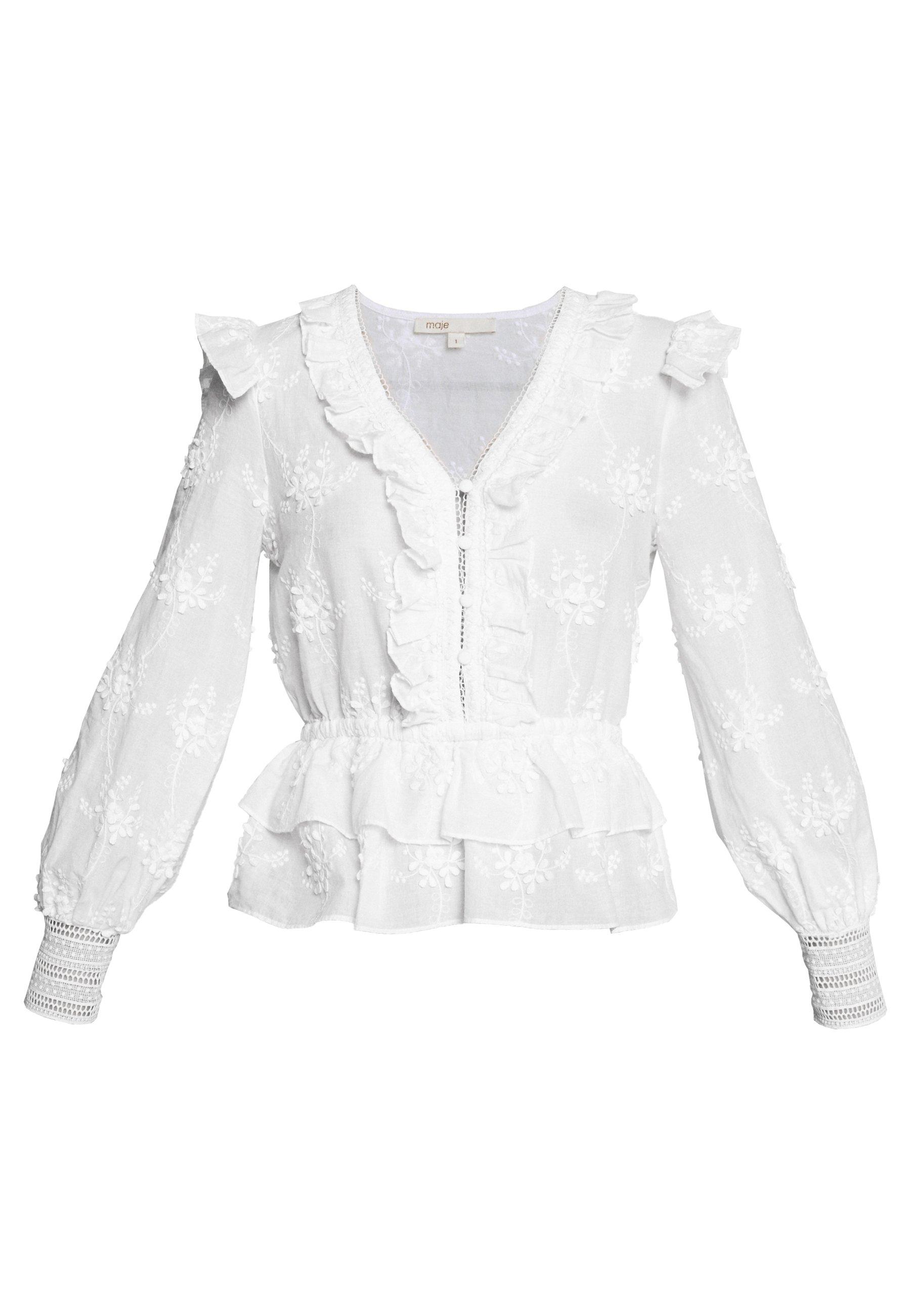 LOXANA Blus blanc
