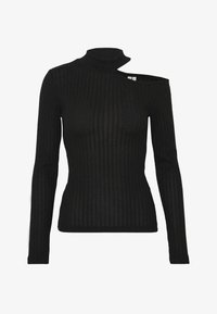 Nly by Nelly - CUT OUT - T-shirt à manches longues - black - 3
