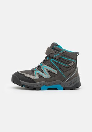 THILO TEX - Classic ankle boots - dark grey/turquoise