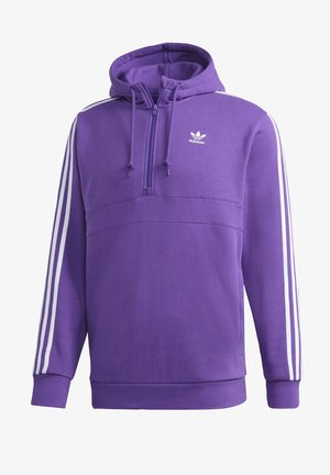 STRIPES HOODIE - Hoodie - purple