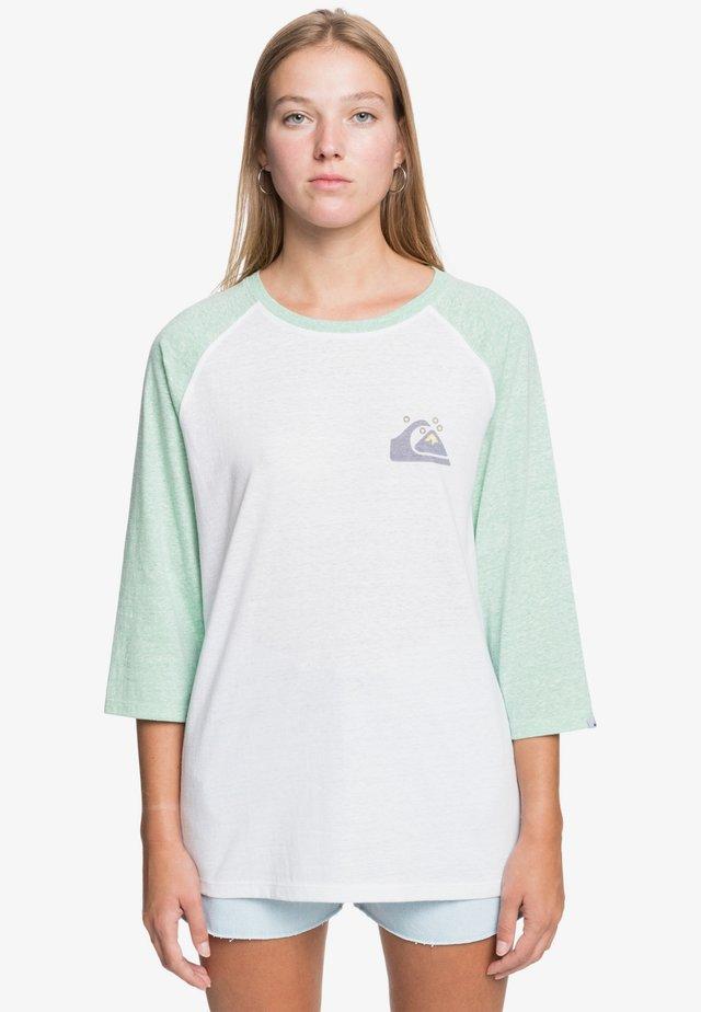 Long sleeved top - marine green