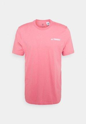 TEE - T-shirt med print - hazy rose