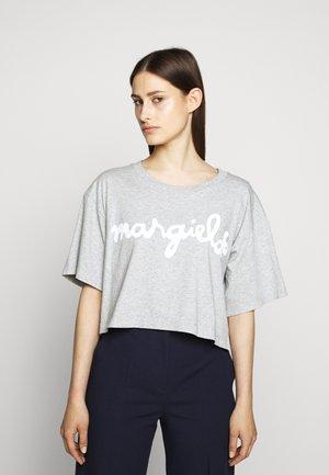 MARGIELA TEE - T-shirt imprimé - grey melange