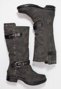 Coolway - GISELE - Cowboy/Biker boots - grey - 3