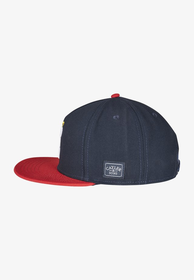 Cappellino - nvy/red