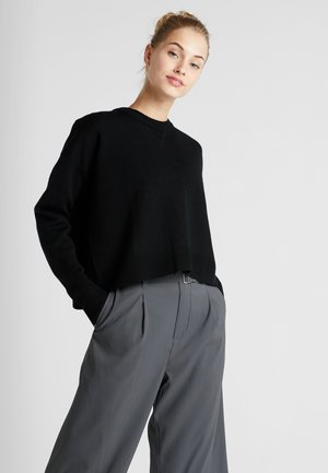 REVERSIBLE  - Jumper - black