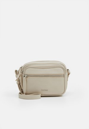 CROSSBODY BAG BUBBLE - Skulderveske - ecru