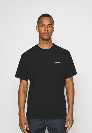 TAB VINTAGE TEE UNISEX - Basic T-shirt - mineral black