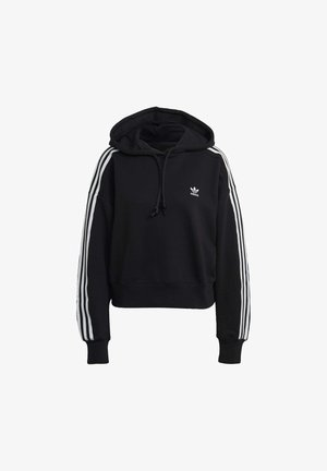 SHORT HOODIE - Sweat à capuche - black