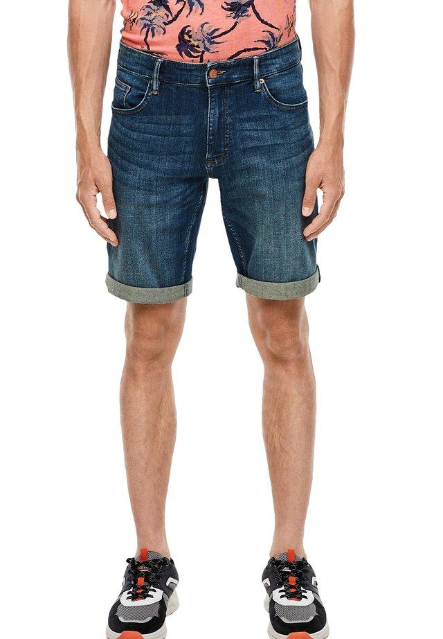 Denim shorts - dark ocean