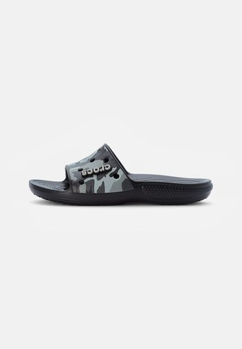 CLASSIC CROCS - Sandały kąpielowe - black