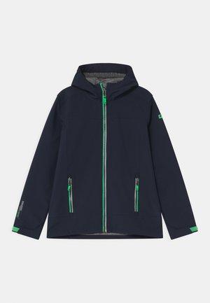 ADJERO UNISEX - Soft shell jacket - dunkelnavy