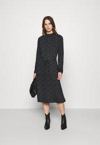 Moss Copenhagen - EANE DRESS - Day dress - black - 1
