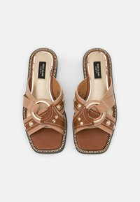 River Island Wide Fit - Mules - brown - 5