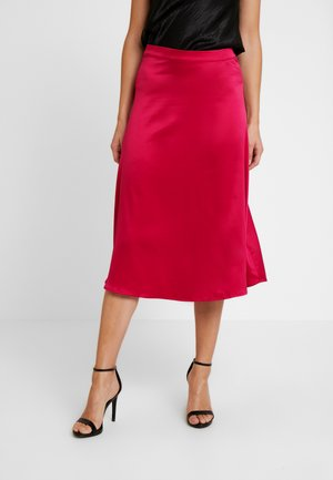 SKIRT - A-line skirt - dark fucksia