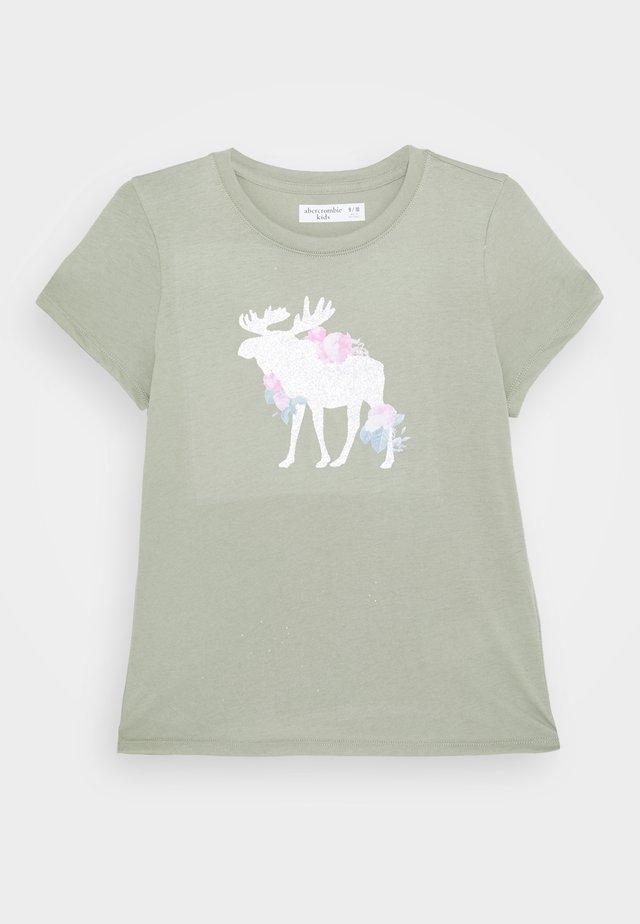 LOGO - T-Shirt print - light green