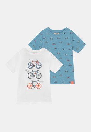 2 PACK - Print T-shirt - multi-coloured
