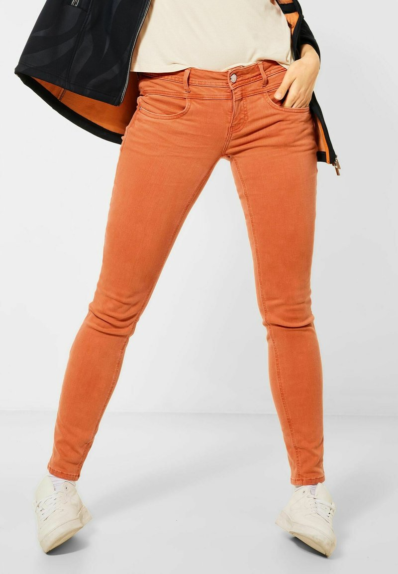 Street One - Jeans Skinny Fit - orange