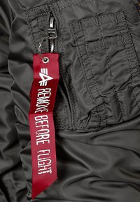 Alpha Industries - Bomber Jacket - rep. grey - 3