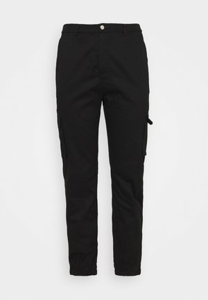 TROUSER - Cargobukse - black