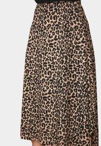 Trendyol - A-line skirt - brown - 4