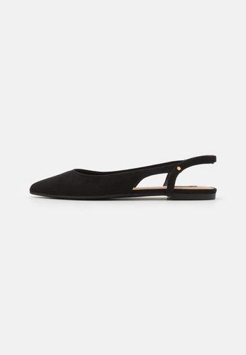 ONLANAS LIFE - Slingback ballet pumps - black