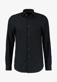 SLIM FIT - Formal shirt - black