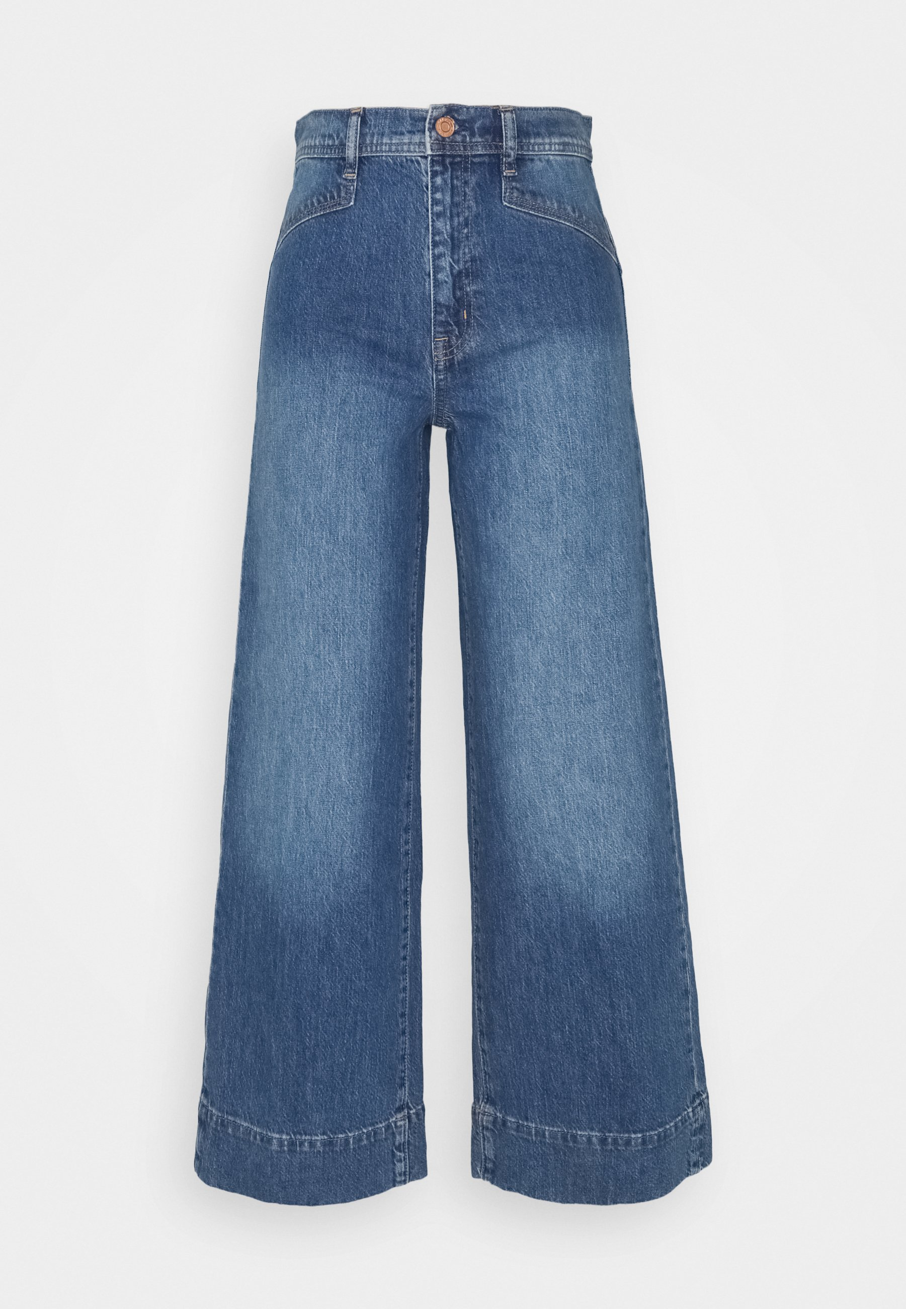 Women WIDE LEG VERNON VINTAGE DETAILS - Flared Jeans