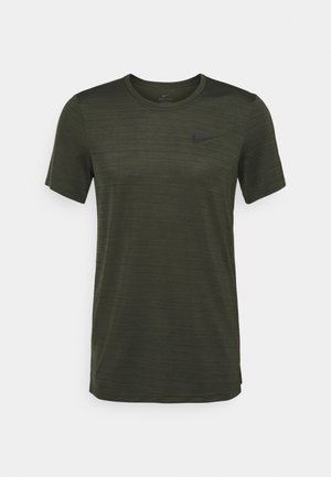 DRY SUPERSET - Camiseta básica - sequoia/black