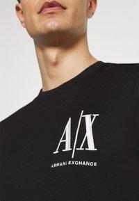 Armani Exchange - Print T-shirt - black - 6