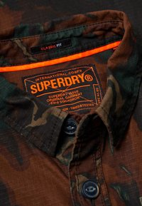 Superdry - MILITARY STORM - Shirt - brown - 3